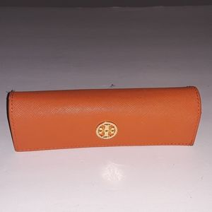 Tory Burch eyeglasses / sunglasses case GUC